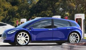 Tesla Model 3 Concept Car