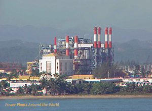 Palo Seco Power Plant in Puerto Rico