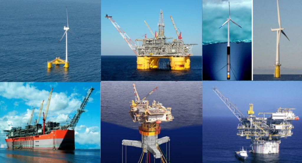 Example Offshore Platforms