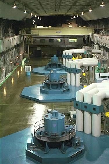 Figure 3 Helms Pumped Storage Facility Turbine Generators