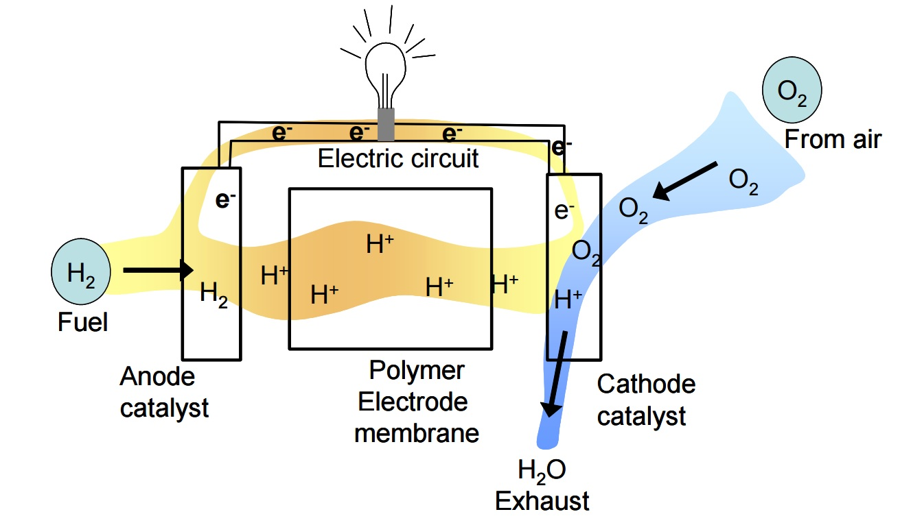 Figure 1 - Schematic of a fuel cell